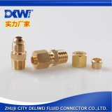 廠家直銷 精品黃銅擴口接頭 全銅接頭JIC黃銅接頭