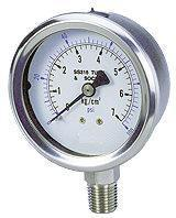 全不锈钢压力表(P-S25AS-070B)