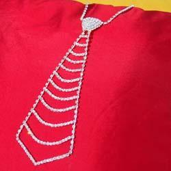水钻领带,项链,手链