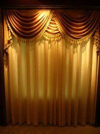 色织提花面料宾馆酒店用窗帘布 (CTN-126)