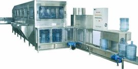5加仑桶装水自动洗瓶灌装生产线(350-1000瓶/时)