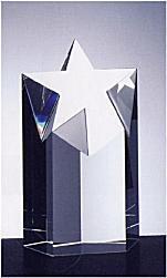 水晶玻璃奖杯