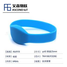 工厂直销tk4100芯片硅胶腕带