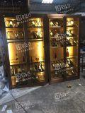 厦门不锈钢常温酒柜迷你家用不锈钢酒柜大型落地酒柜