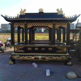 寺庙铸铁香炉生产厂家 铸铁长方形香炉定做厂家