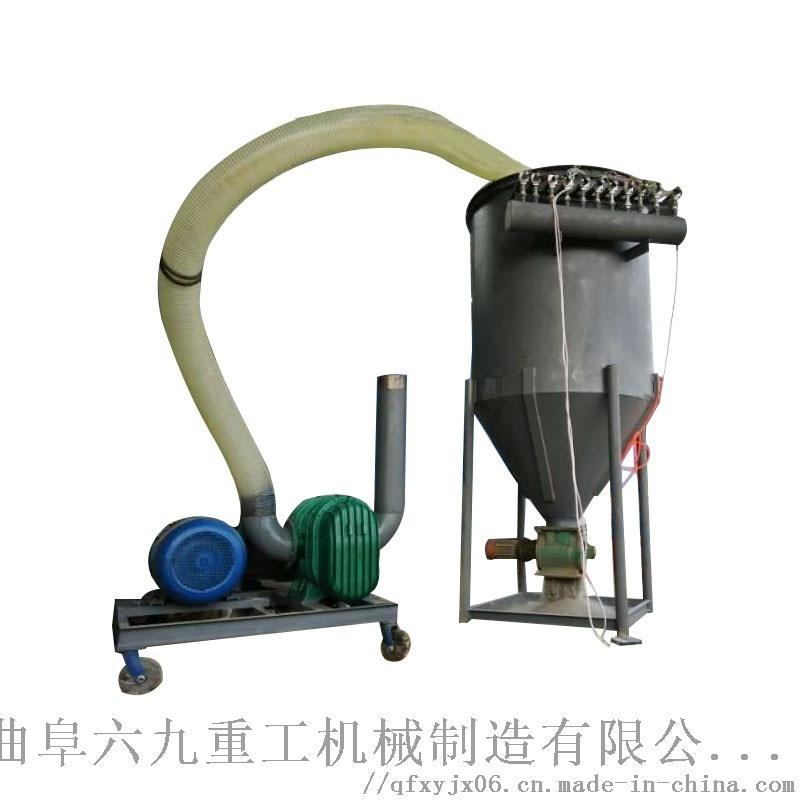 负压气力吸料机 粉煤灰出库装车机 六九重工 粉煤灰