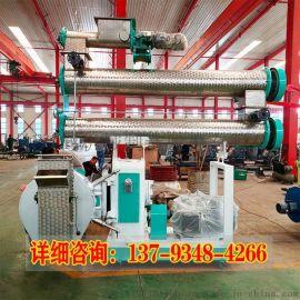 时产500KG的豆腐猫砂环模制粒生产线
