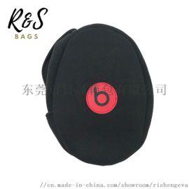 工厂定制防水防震居家旅行EVA头戴式耳机折叠耳机包