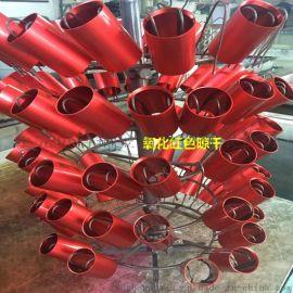定制 6061鋁管彩色陽極氧化