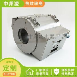 塑机料筒加热器 不锈钢外罩 风冷保护罩电加热圈