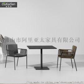 户外家具 藤椅简易藤沙发户外椅阳台室外单人沙发