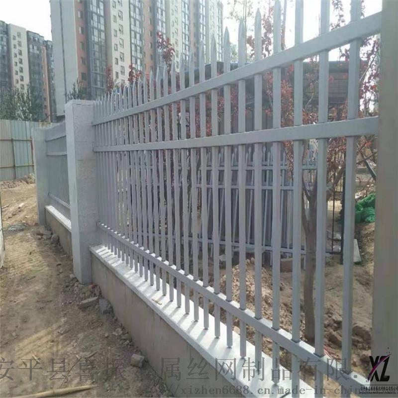 鐵質圍牆護欄@平山鋅鋼圍牆護欄@鋅鋼圍欄廠家