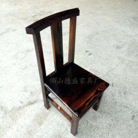 碳化木桌椅 餐厅仿古餐桌 农家乐面桌椅