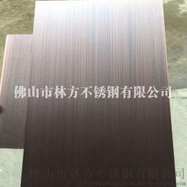 别墅室内墙面装饰板 专业青古铜不锈钢镀铜板装饰