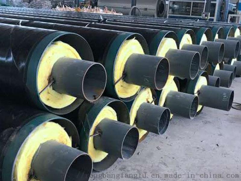 北京聚氨酯暖氣保溫管,預製聚氨酯保溫管
