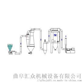 粮食粉煤灰抽吸机定制 粉体输送系统 圣兴利 山东物