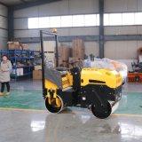 小型压路机 座驾式双钢轮振动碾 手扶式震动压土机