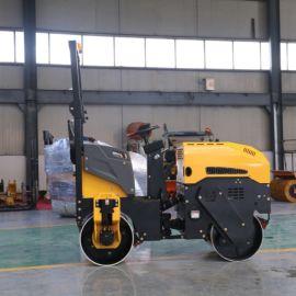 沃特1.5吨压路机 双轮压路机 全液压振动式压路机