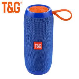 户外手提高音质生活防水藍牙音箱TG106带插卡收音