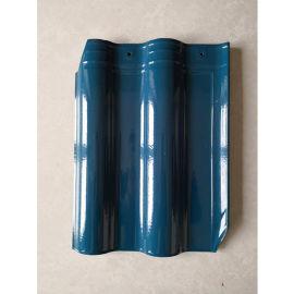 厂家供应景德镇高温烧制工艺 陶瓷瓦 西式连锁瓦