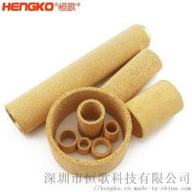 生產青銅燒結過濾芯, 油氣分離燒結過濾器