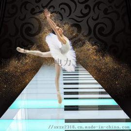 钢琴感应地砖灯、互动地面钢琴音乐电砖灯专业可靠