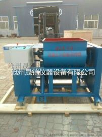HJS-60型混凝土双卧轴搅拌机(液压升降)