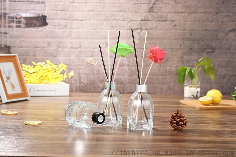 厂家直销八角香薰瓶香水瓶精油瓶 香料玻璃瓶