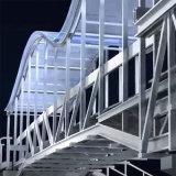 广东人行天桥栏杆铝型材定制
