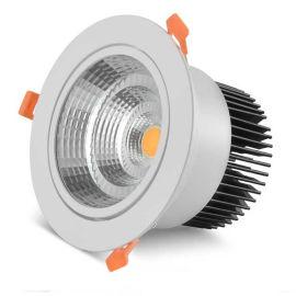 室内可调光COB射灯 LED照明天花灯