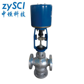 ZAZQ-16電動三通合流調節閥