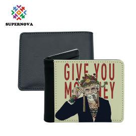 热转印男士钱包 印花男士钱包  热转印空白钱包耗材