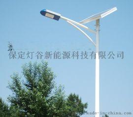 河间新农村建设太阳能路灯,5米6米路灯杆安装配置