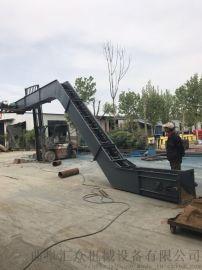 大型刮板机 多功能刮板皮带输送机 六九重工 炉渣运