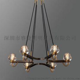 客廳,餐廳水晶吊燈,全銅吊燈,LED吊燈