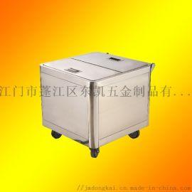 食物配料儲存車不鏽鋼面粉推車