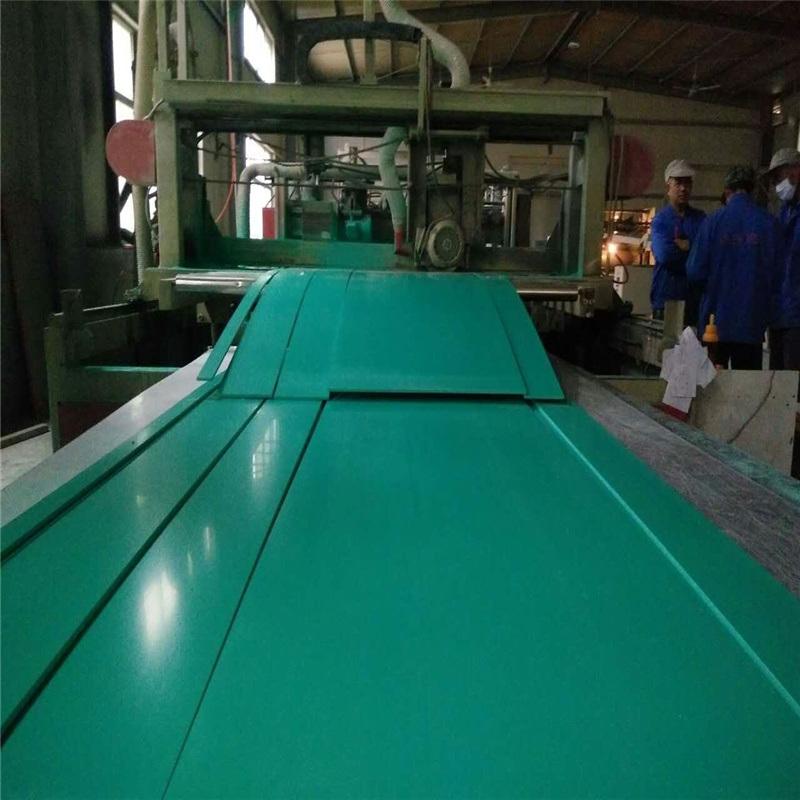 4mm绿色PVC软板 防腐沙场过滤池内衬厂家