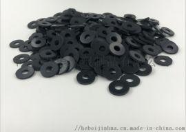 黑色橡胶垫片丁晴橡胶脚垫实心圆垫减震脚垫耐磨橡胶