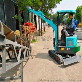 15挖掘机 橡胶带运输机 六九重工 勾机表演视频