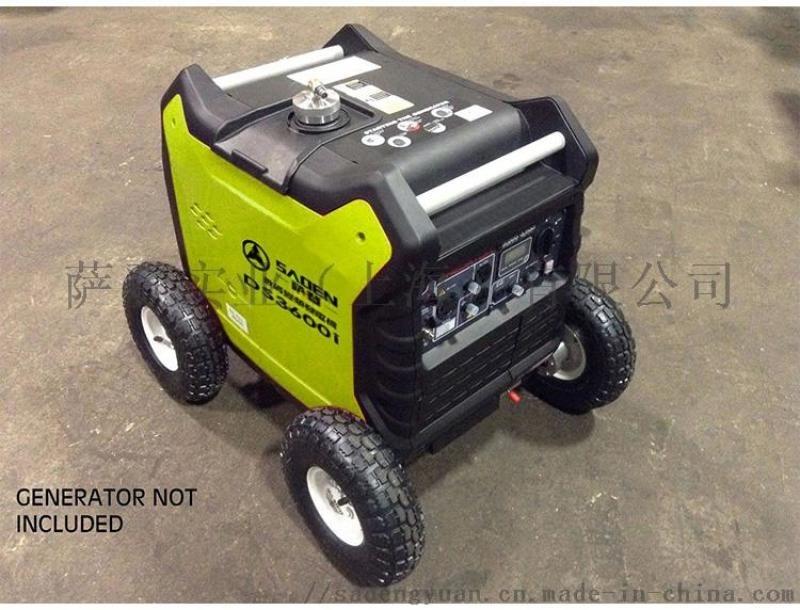 萨登3千瓦超静音车载空调野外足功率变频发电机