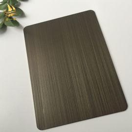 不锈钢纳米板不锈钢纳米镀古铜板厂家