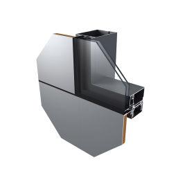 """铝单板与玻璃幕墙 智慧""""挂钩式""""幕墙系统"""""""