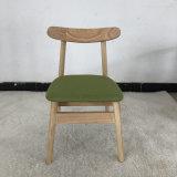 北欧简约韩椅橡胶木实木餐椅家用小牛角餐椅