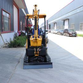 多功能小型履带挖掘机 农用挖树坑小挖机捷克