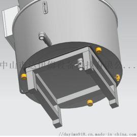 恒温搅拌桶 混合树脂固液加温桶 喷涂材料搅拌桶