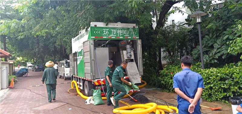 化粪池清理车 环卫吸污净化车 多功能干湿分离吸粪车