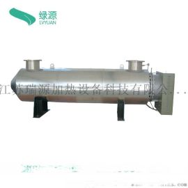 供暖熱水 管道式水加熱器  化工行業液體加熱