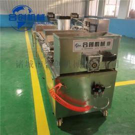 仿手工全自动烙馍机设备 荷叶薄饼压饼机厂家