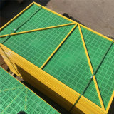 米字型爬架網工地建築安全防護隔離樓層施工衝孔爬架網