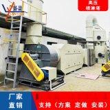 高压旋流PP喷淋塔脱硫除尘废气净化设备